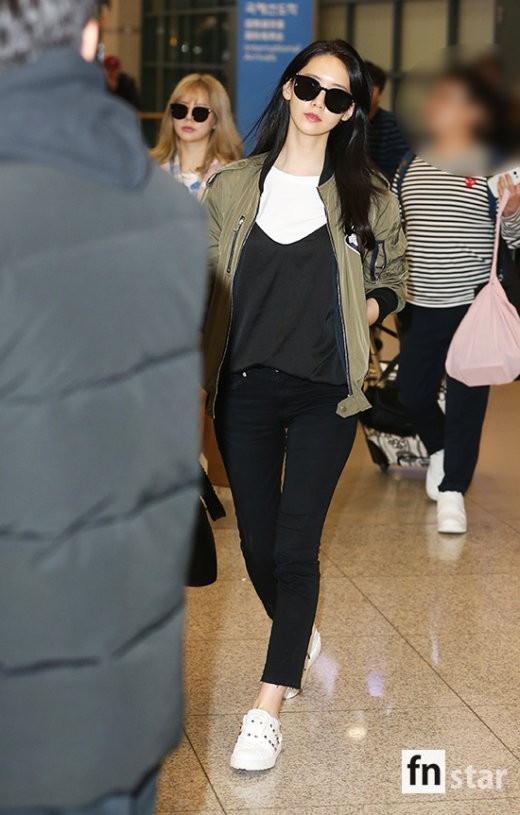Pannchoa Naver Celebrities Airport Fashion Yoona Hyorin Oh