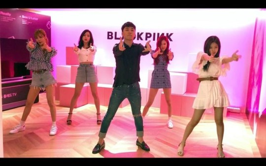 Image result for seungri and blackpink