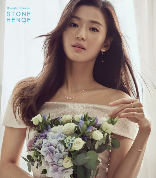 Jun Ji Hyun is a goddess in wedding gown photoshoot ...