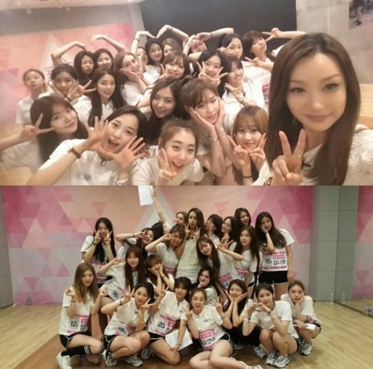 """Produce 101 'baeyunjeong, published last practice field"" Everybody were suffering ""|  Instiz"
