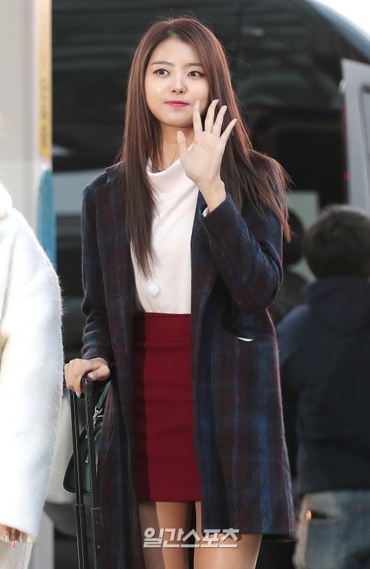[포토]임나영, 오늘도 예쁜 리더