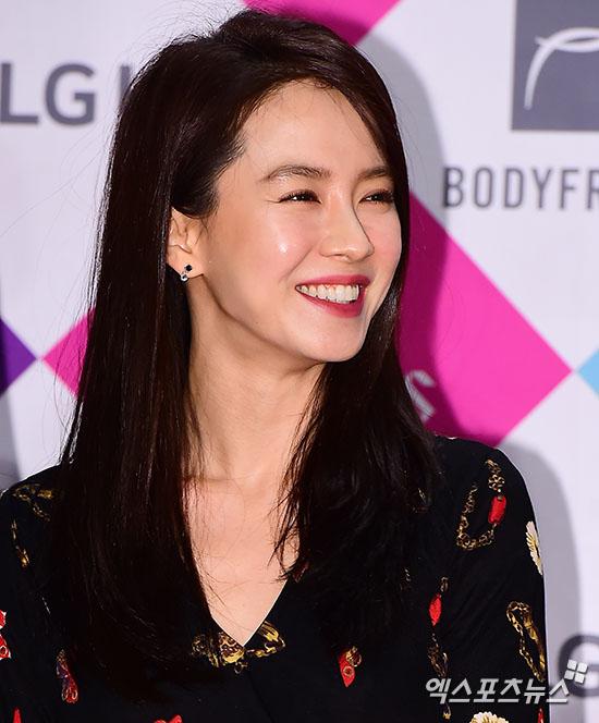 송지효 '여배우의 미소'[포토]
