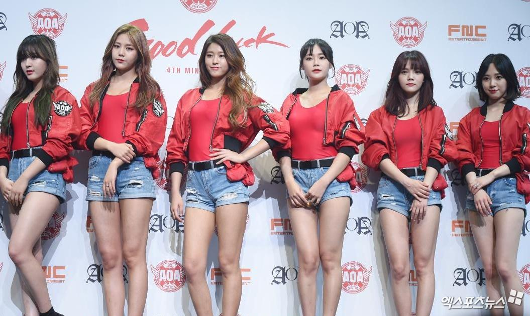 AOA will make a comeback in the 1st half of the year, aiming for late May